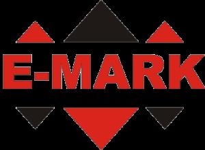 """Фирменный логотип компании """"E-MARK"""""""